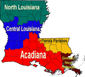300px-Louisiana_regions_map